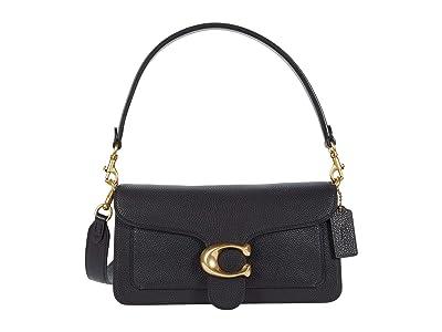 COACH Polished Pebble Leather Tabby Shoulder Bag 26