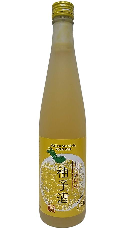 多様体リーベルトまつのはなリキュール 柚子酒 [ 日本酒 滋賀県 500ml ]