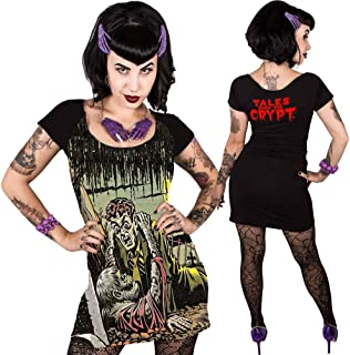 Women's Tales from The Crypt Gravebuster Dress Black S