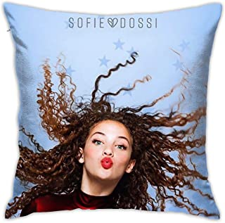 HEYUNZI Pillows Case Fans Design Fashion Soft Custom Covers Double Sided Printed 18 x 18 in