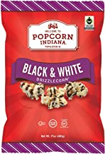 Popcorn Indiana Black & White Drizzlecorn (17 Oz.) (Pack Of 2)