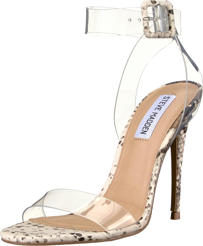 Steve Madden Womens Seeme Heeled Sandal