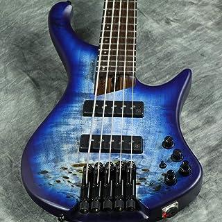 $1599 » Ibanez EHB1505 Ergonomic Headless 5-String Bass (Pacific Blue Burst Flat)