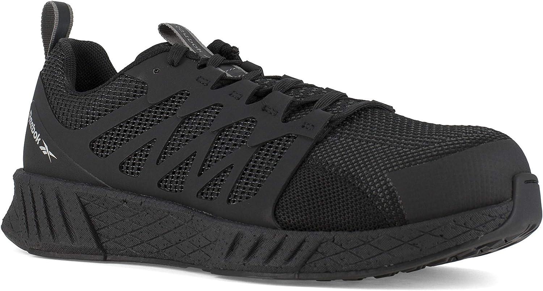 Reebok Women's Fusion Flexweave Safety Toe Athletic Work Shoe