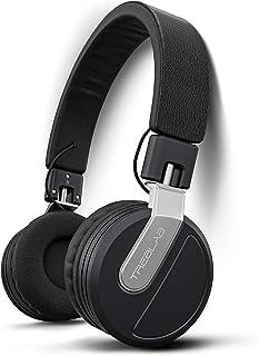 TREBLAB BT5 - Premium On-Ear Wireless Headphones - High-Intensity HD Sound w/Bluetooth 5.0 Over-Ear Microphone, Waterproof...