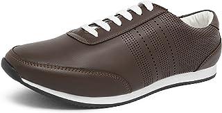 Marc Loire Men Casual Lace-Up Shoes, Faux Leather Sneakers - ML0075070440-P