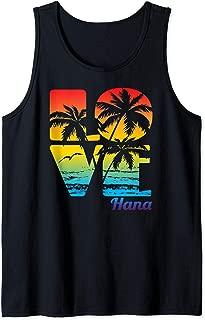 Hana, Hawaii Tropical Love product Tank Top