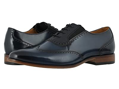 Stacy Adams Sullivan Wing Tip Oxford (Ink Blue) Men