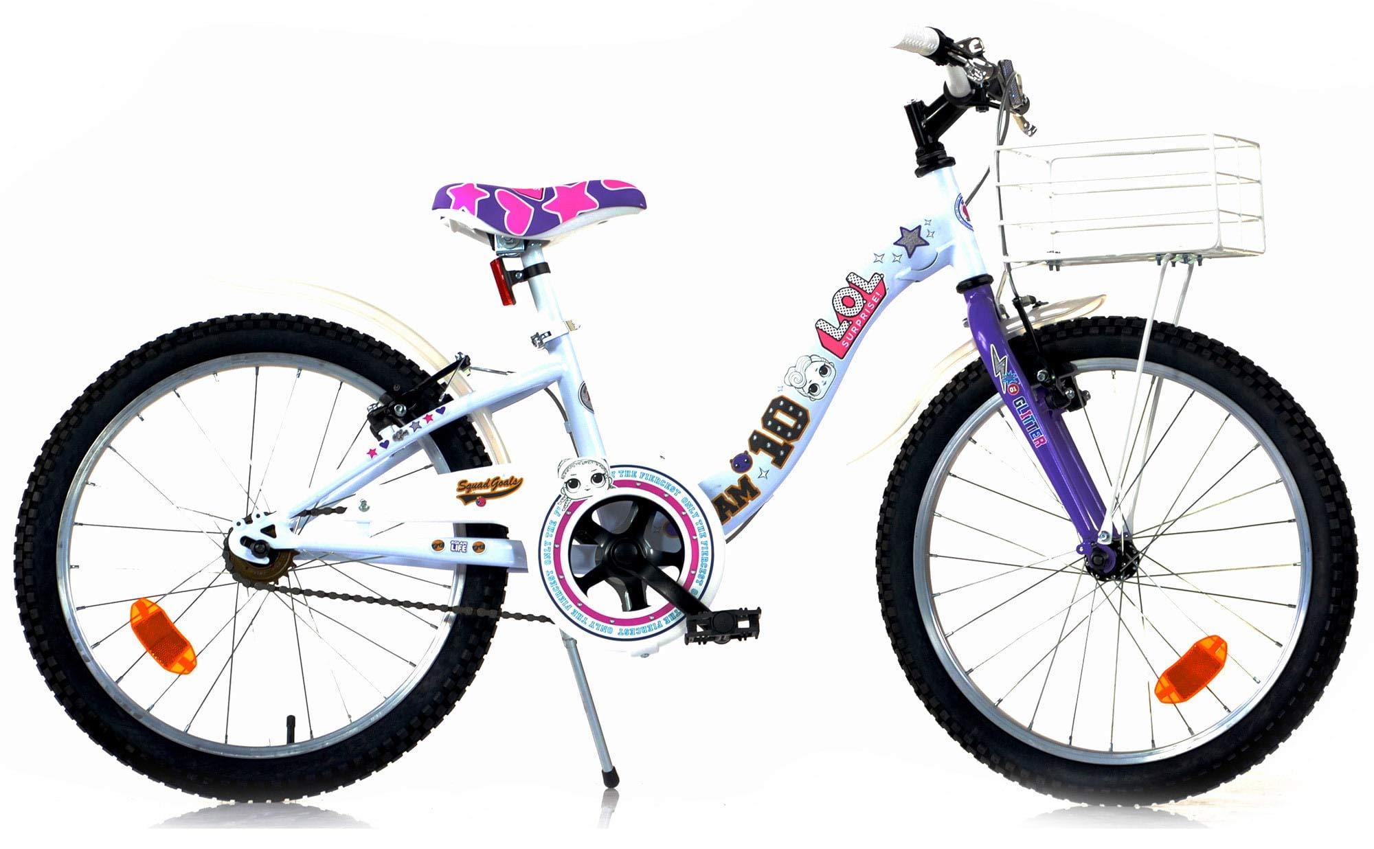 Dino Bikes Bicicleta Niña Chica LOL Surprise 20 Pulgadas Frenos al ...