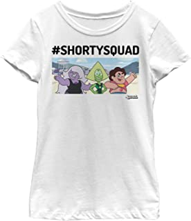 Fifth Sun Steven Universe Girls' #ShortySquad T-Shirt