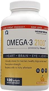Best ocean blue omega 3 2100 mg softgels Reviews
