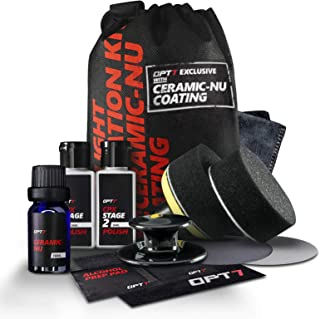 OPT7 Headlight Restoration Kit w/excl Ceramic Nu Coating – Professional Detailers Grade..