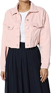 Best pink jean jacket Reviews