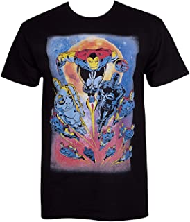 Iron Man Iron Legion Attack Men's T-Shirt