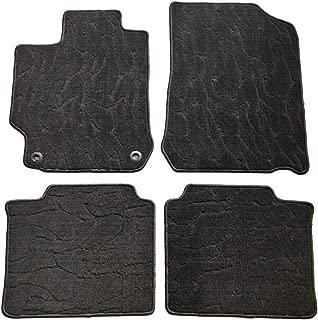 QianBao Front & Rear Nylon Water Ripple 4PC Car Floor Carpets Liner Floor Mat Fits Toyota Camry 2012 2013 2014 2015 2016 2017