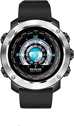 Fashion Men's Smart Watch for iPhone Android with Heart...