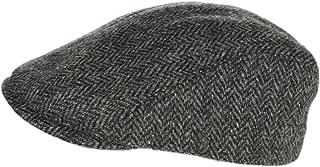 Irish Touring Cap Extended Brim Irish Tweed Formfitting Cap Handcrafted in Ireland