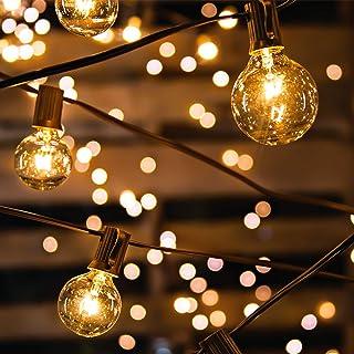 Guirlande Guinguette Extérieure Avoalre® 10m 30 Ampoules Guirlande Lumineuse Interieur avec 3 Rechange Guirlande Guinguett...