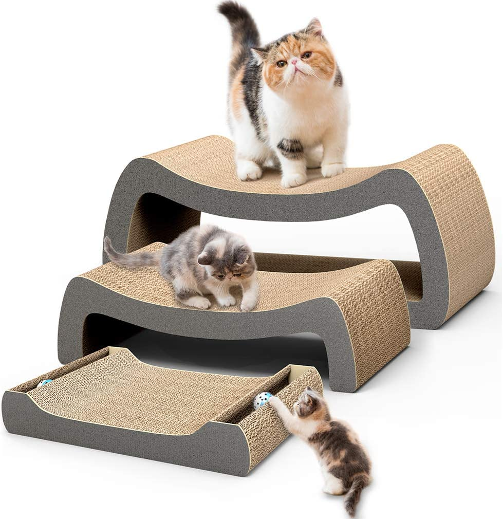 HIPIPET Cat Scratcher Cardboard Pad Max Seasonal Wrap Introduction 45% OFF Scratching Pos