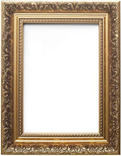 Memory Box FR-Baroque-2-Parent - Caja de Recuerdos para Fotos/pósteres (Estilo Barroco francés, con moldura, 58 mm de Ancho y 38 mm de Profundidad, tamaño A3, 29,7 x 42 cm)