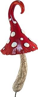 GlitZGlam Enchanted Miniature Red Mushroom for a Miniature Fairy Garden. A Gnome- Fairy Garden Accessory