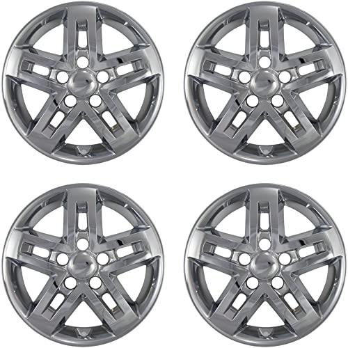 new arrival 16 inch Hubcap Wheel Skins for 2010-2012 KIA Soul-(Set of high quality 4) Wheel Covers- Car Accessories for 16inch Chrome Wheels- Auto Tire new arrival Replacement Exterior Cap Cover sale