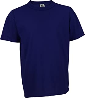 Russell Athletic Youth NuBlend Tee, Navy - MD - 10/12