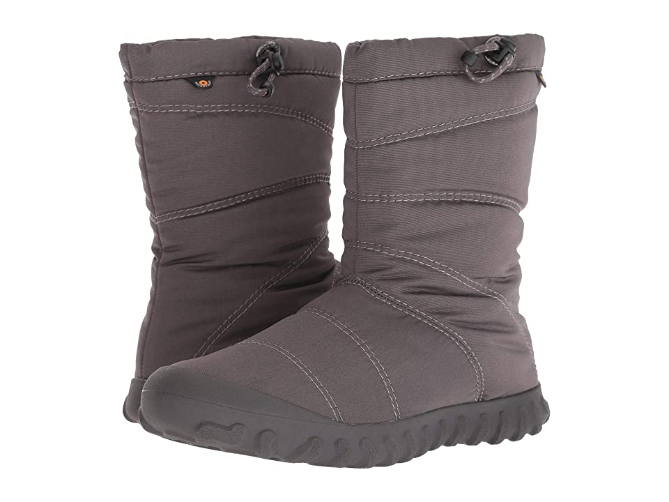 Bogs B Puffy Mid (Dark Gray) Women