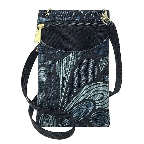 202dba783d Danny K Women s Tapestry Crossbody Cell Phone or Passport Purse