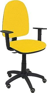 PIQUERAS Y CRESPO 04cpbali100b24rp–Chaise de Bureau, Couleur Jaune
