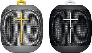 UE WONDERBOOM SPEAKER BUNDLE OFFER - Super Portable Waterproof Bluetooth Speaker, Phantom Black plus Stone Gray