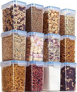 GY 4/12 pièces Ensemble Nourriture Cuisine boîte de Rangement Couvercle sous Vide Organisateur conteneur Transparent scell...