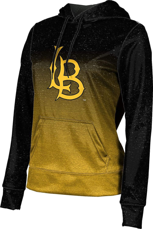 ProSphere California State University Long Beach Girls' Pullover Hoodie, School Spirit Sweatshirt (Ombre)