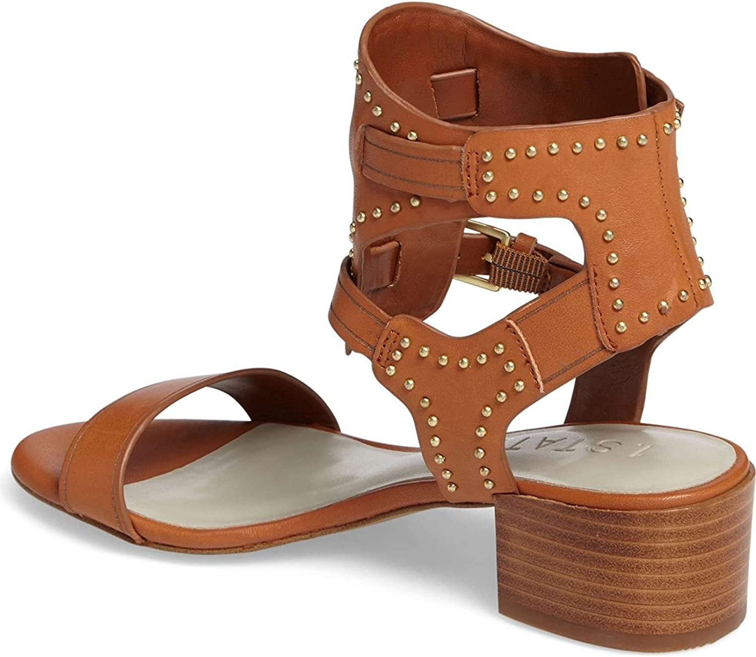 1. State Womens Rylen Leather Open Toe Casual Ankle Strap Sandals