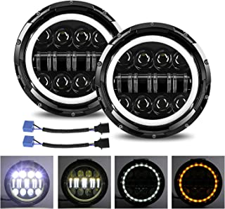 Jeep Wrangler LED Headlights, YUGUANG 7