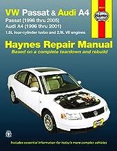 VW Passat, '98-'05 & Audi A4, '96-'01 Technical Repair Manual (Automotive Repair Manual)