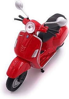 H Customs Vespa Motorroller Roller Cruiser Lizenzprodukt 1:18 Rot