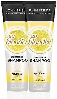 John Frieda Sheer blonde go blonder lightening shampoo, 8.3 ounces (pack of 2), 2 Count