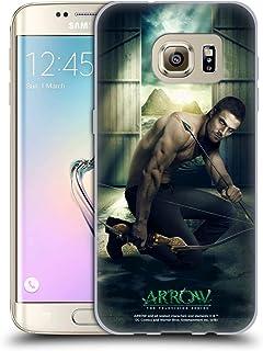 Head Case Designs Officiel Arrow TV Series Oliver Queen 2 Posters Coque en Gel Doux Compatible avec Samsung Galaxy S7 Edge
