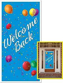 Best welcome back door decorations Reviews