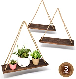 Best hanging wood shelves Reviews