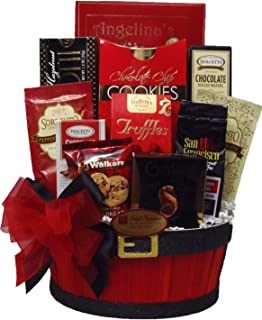 Delight Expressions Goodies From Santa Christmas Holiday Gourmet Food Gift Basket