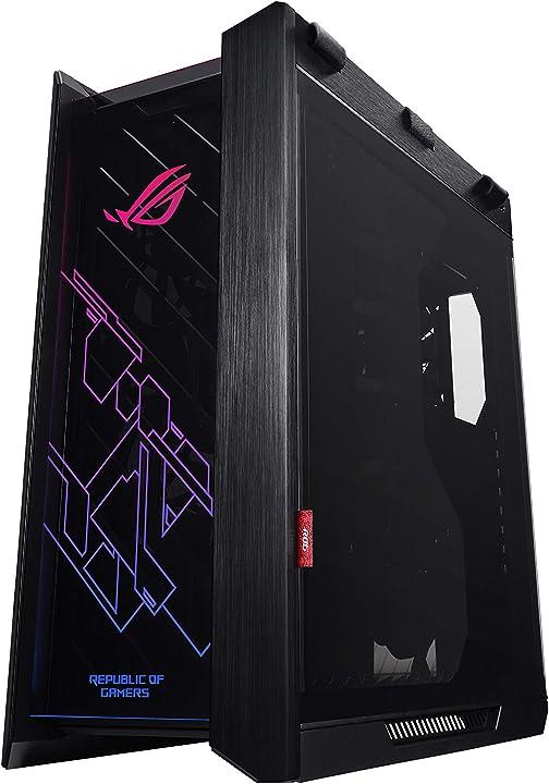 Case pc asus rog strix helios rgb atx/eatx mid, tower gaming 90DC0020-B39000