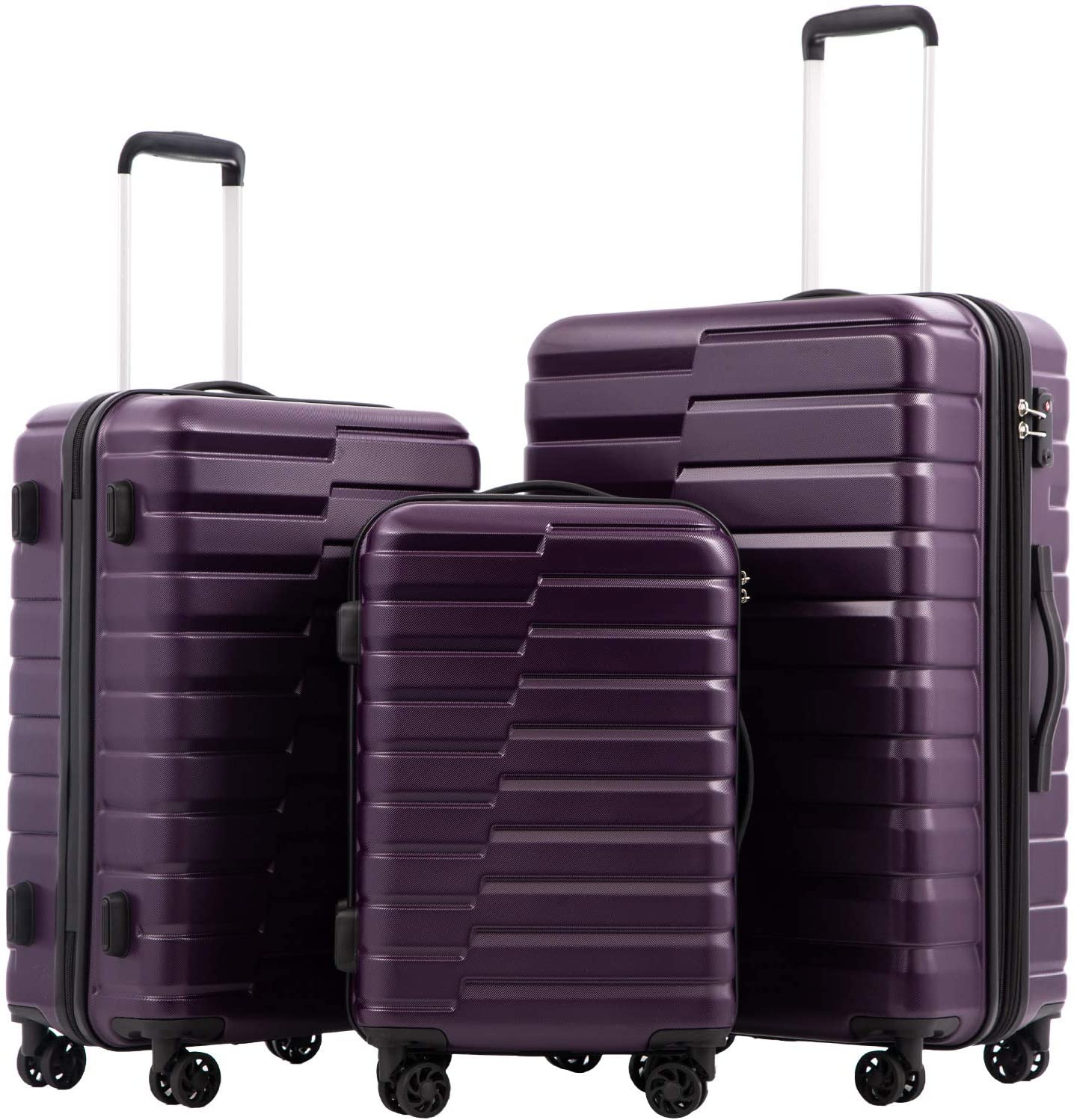 COOLIFE Luggage Expandable Inexpensive only 28'' Suitcase Award-winning store ABS Lock S TSA PC