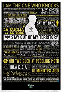 Breaking Bad - Classic Quotes 24x36 Poster Art Print