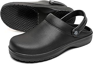Men and Women's Non Slip Garden Kitchen Chef Clogs Doctors Nursing Water Resistant Safty Working Shoes