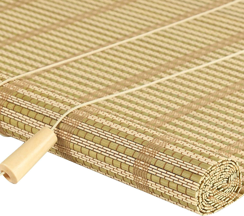 JUANJUAN Bamboo Roller Shade Ranking TOP8 Free shipping New Indoor Screen Off Privacy Cut Anti