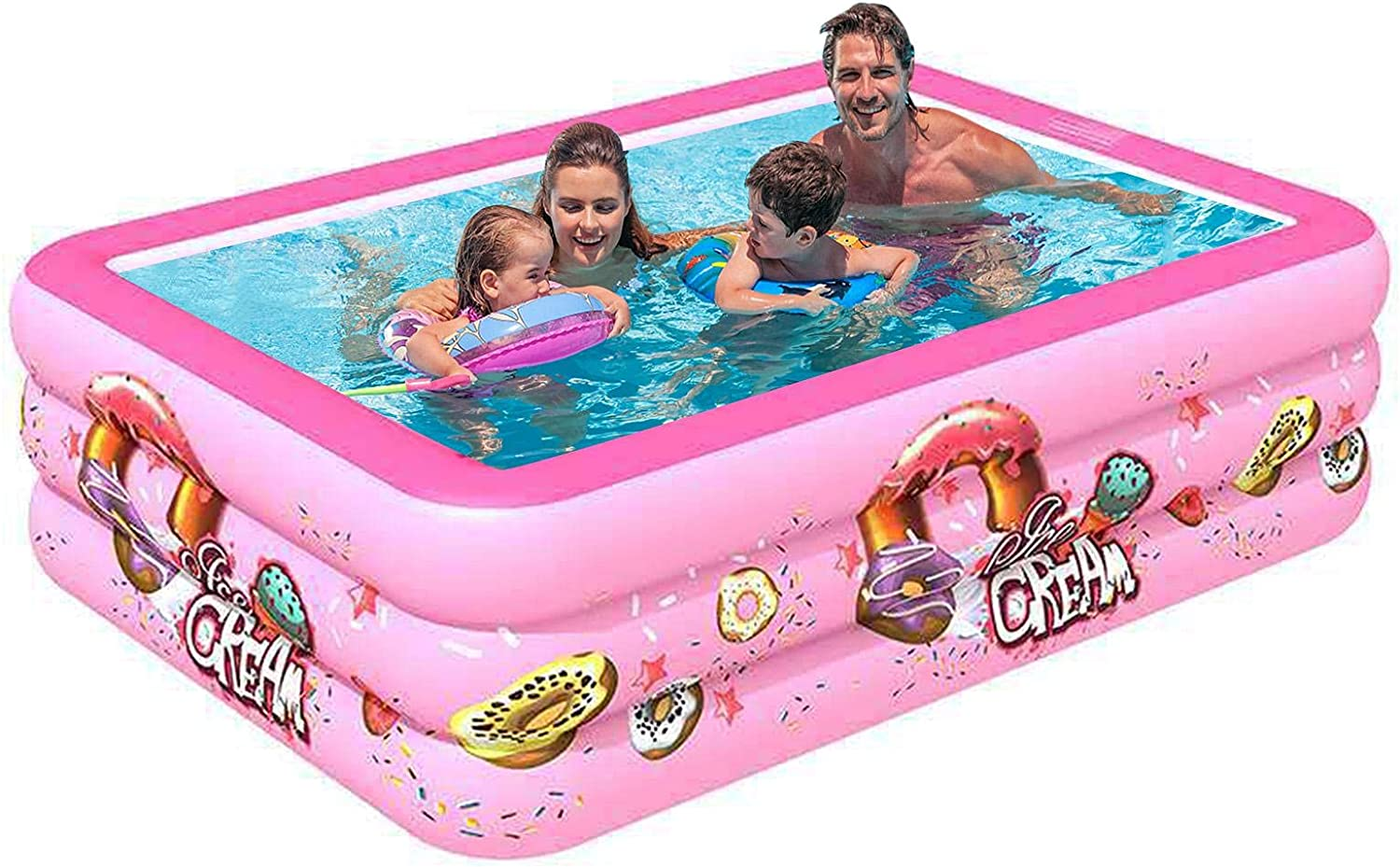 luning Rectangular Inflatable Swimming OFFicial store Pool Popular popular Thicker 50 Ot - Than