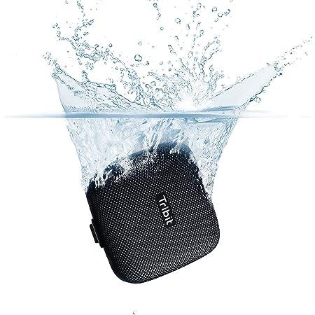 【VGP 2021 SUMMER受賞】 Tribit StormBox Micro Bluetoothスピーカー IPX67完全防水 スピーカー TWS機能 ポータブルスピーカー 9W Bluetooth5.0 ブルートゥーストリビット USB-C充電 スピーカー 低音強化/内蔵マイク搭載 ブラック BTS10