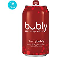 18-Pack bubly Sparkling Water Cans 12-fl Oz. (Cherry)